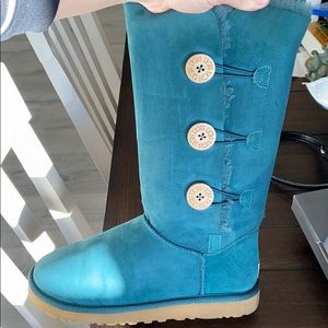 Limited edition teal uggs